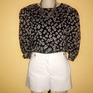 Argenti 100% silk 80s vintage blouse